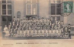 ¤¤   -   REIMS   -  Fête Scolaire 1910  -  1er Canton  -  Les Corses   -  ¤¤ - Reims