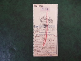 (37574) STORIA POSTALE ITALIA 1907 - 1900-44 Victor Emmanuel III