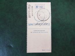 (37575) STORIA POSTALE ITALIA 1922 - 1900-44 Victor Emmanuel III
