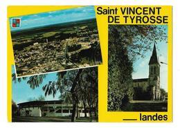 SAINT VINCENT DE TYROSSE / MULTIVUES - EGLISE - VUE GENERALE - ARENES - Saint Vincent De Tyrosse