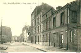 SAINT-OUEN - LA RUE ARAGO  -   Bb-308 - Saint Ouen