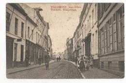 Tienen Gilainstraat Oude Postkaart Geanimeerd - Tienen
