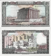 Lebanon 1988 - 50 Livres - Pick 65 UNC - Lebanon