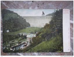 La Gilippe Le Barrage Et Les Fitres Stuwdam Stuwmeer In Kleur DR. Trenkler Leipzig, 1904, 26654 - Jalhay