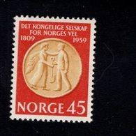 763026572 1959 SCOTT 376 POSTFRIS  MINT NEVER HINGED EINWANDFREI  (XX)  AGRICULTURAL SOCIETY MEDAL - Norvège