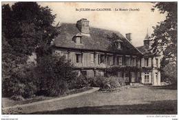 St JULIEN-sur-CALONNE - Le Manoir(façade) - Autres Communes