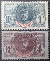 R3586/1215 - 1906 - COLONIES FR. - MAURITANIE - N°1 Et 3 ☉ - Mauritanie (1906-1944)