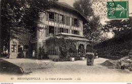 HENNEQUEVILLE  Le Châlet D'Armenonville. Carte écrite En 1911   2 Scans  TBE - France
