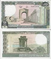Lebanon 1988 - 250 Livres - Pick 67 UNC - Lebanon