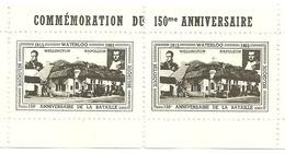 Herdenking 150 Jaar WATERLOO - Cartes Souvenir