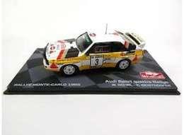 Audi Quattro Sport - Walter Rohrl/C. Geistdörfer - Monte-Carlo 1985 #3 - Ixo (Altaya) - Ixo