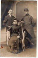 MILITARIA 336 : Carte Photo Tenue Militaire A Identifier : Carte Guilleminot - Uniformen