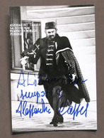 Musica Lirica - Autografo Del Cantante Alessandro Cassis - 1980 Ca. - Autografi