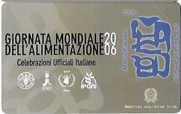 NUOVA--2198- TELECOM ITALIA-GIORNATA MONDIALE ALIMENTAZIONE - Public Practical Advertising