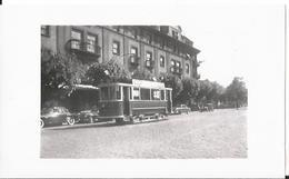 Photo -Thème Transport - Colmar En 1955 - Tramway - Gare - Train - Trains