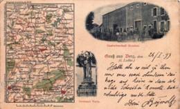 France - 57 - BERG Près De GROSTENQUIN - Gruss Aus Berg - Other Municipalities