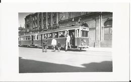Photo -Thème Transport - Colmar En 1955 Très Animée  - Tramway - Gare - Train - Trains