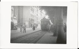 Photo -Thème Transport - Lyon -  -  Très Animée  - Tramway - Gare - Train - Trains