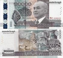 CAMBODIA       10,000 Riels       Comm.        P-69       2015       UNC   [10000] - Cambogia