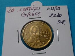 20 CENTIMES EURO GRECE 2010 Sup ( Livrée Sous étui H B ) - Grèce