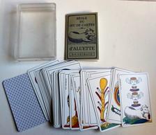 Ancien Rare Jeu De Cartes D'aluette B.P GRIMAUD J. M. Simon France Cartes Voyance Cartomancie - Group Games, Parlour Games