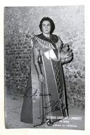 Musica Lirica - Autografo Del Tenore Giorgio Casellato Lamberti - 1980 Ca. - Autografi