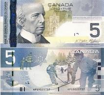 CANADA       5 Dollars       P-101Ad       2006/2010       UNC - Canada