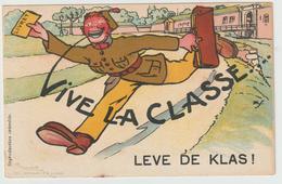 ARMÉE BELGE - VIVE LA CLASSE,  ( Militaire Avec Son Livret ) - Humour