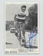 Image Photo Dédicacée Jan Janssen Vainqueur Tour De France 1968 - Autres