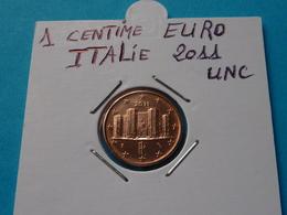 1 CENTIME  EURO  ITALIE  2011 Unc - Italie