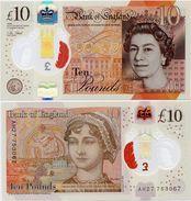 GREAT BRITAIN       10 Pounds       P-395       2016 (2017)       UNC - 1952-… : Elizabeth II