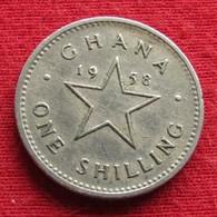 Ghana 1 One Shilling 1958 KM# 5 *V2  Gana - Ghana
