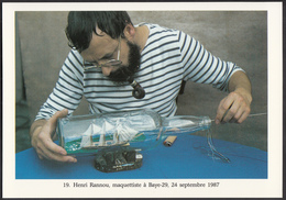 29 - BAYE - Henri Rannou Maquettiste - 1987 - France
