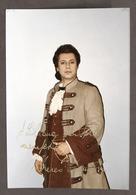 Musica Lirica - Autografo Del Baritono Marco Camastra - 1993 - Autografi