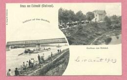 68 - GRUSS Aus EICHWALD - CHALAMPE - Schiffahrt - Gasthaus Zum Bahnhof - France