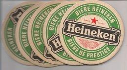 L35B855 - Sous-Bocks - 5 Pièces Identiques  Dessous De Verre Pub Bière - Beer Mats