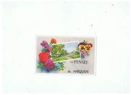 CARTE POSTALE UNE PENSEE DE MARQUION - Frankrijk