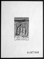 Faroe Islands  Blackprint Of Mi 177 - Ruin Of The Unfinished Cathedral Near Kirkjubøur, Crucifixion Scene  ( Lot F 1837) - Féroé (Iles)