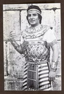 Musica Lirica - Autografo Del Tenore Lando Bartolini - Anni '70 - Autografi