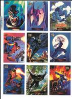 AD44 - SERIE COMPLETE 140 TRADING CARDS FLEER - MARVEL MASTERPEICES HILDEBRANDT BROTHERS - Marvel