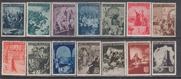 Bulgaria 1942 - Serie Historique, YT 406/19, MNH** - 1909-45 Kingdom