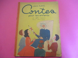 LOUIS PLATEL/Contes Pour Les Enfants/Le Sifflet Magique/Deux Bons Amis/Denise Collot/France-Edition Paris/1931     BD151 - Bücher, Zeitschriften, Comics