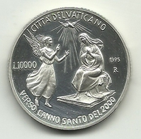 1995 - Vaticano 10.000 Lire Argento - Anno Santo - Vaticano