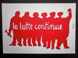 CARTE MAI 68 - Grèves