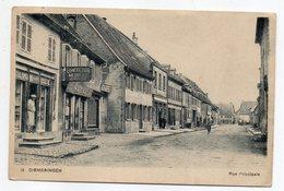 DIEMERINGEN -- Rue Principale (animée, Commerces )   ............  à Saisir - Diemeringen