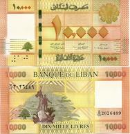 LEBANON       10,000 Livres       P-92b       2014       UNC  [ 10000 ] - Lebanon
