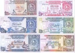 Qatar 6 Note Set 1981 COPY - Qatar