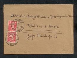 Alliierte Besetzung, Berlin & Brandenburg 1945, Bedarfsbrief, Mi. # 5 A A (2x) - Zone Soviétique