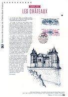 """"""" FRANCE EUROPA 2017 : LES CHATEAUX """" Sur Document Philatélique Officiel De 2017. N° YT 5143. Parfait état. DPO - 2017"""