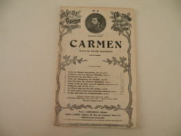 Carmen Opéra Comique(Georges Bizete)-(musique G. Bizet) (paroles Meihac Et Halevy) (Partition) - Opern
